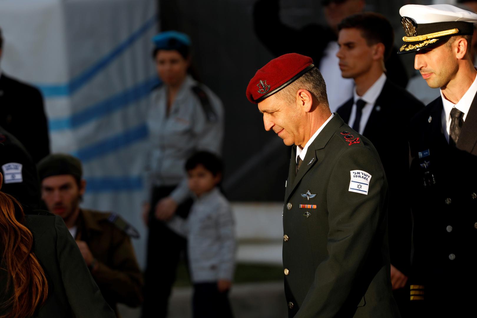 الجيش الإسرائيلي: خطأ لطاقم جوي كاد أن يكلف قائد الأركان حياته