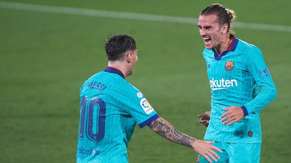 برشلونة يحسم مصير غريزمان مع النادي الكتالوني