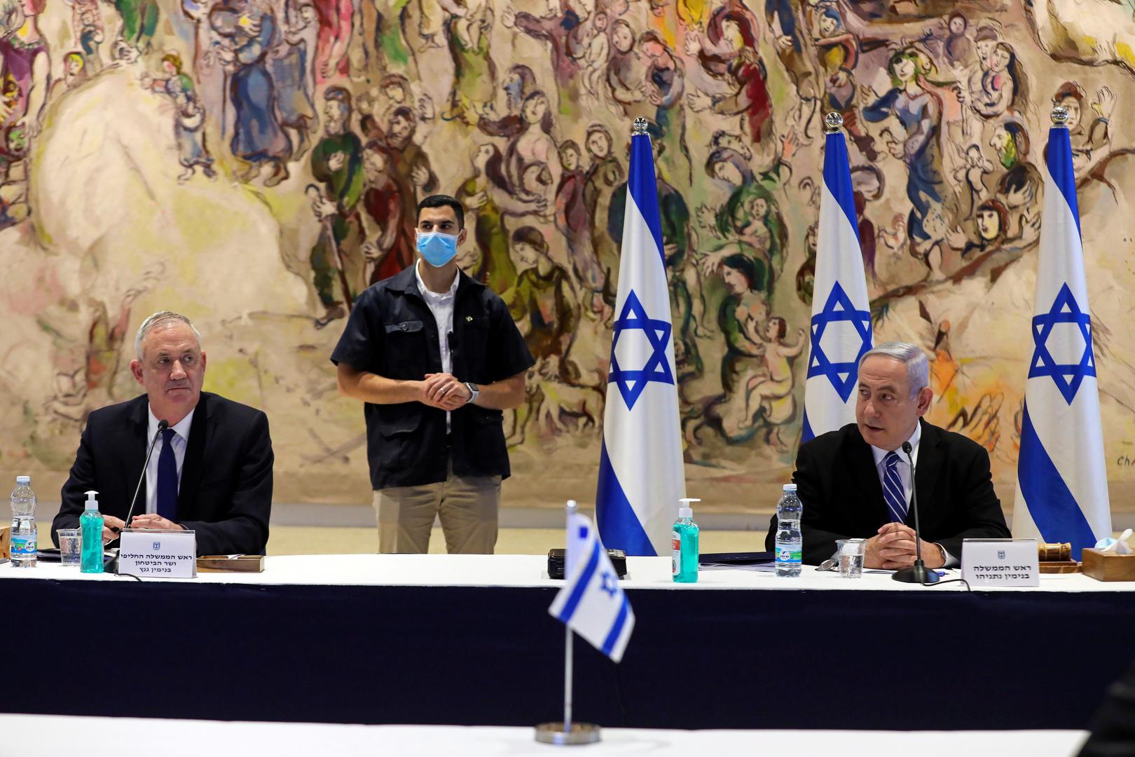 رئيس الائتلاف الحكومي الإسرائيلي: الحكومة الحالية لن تستمر