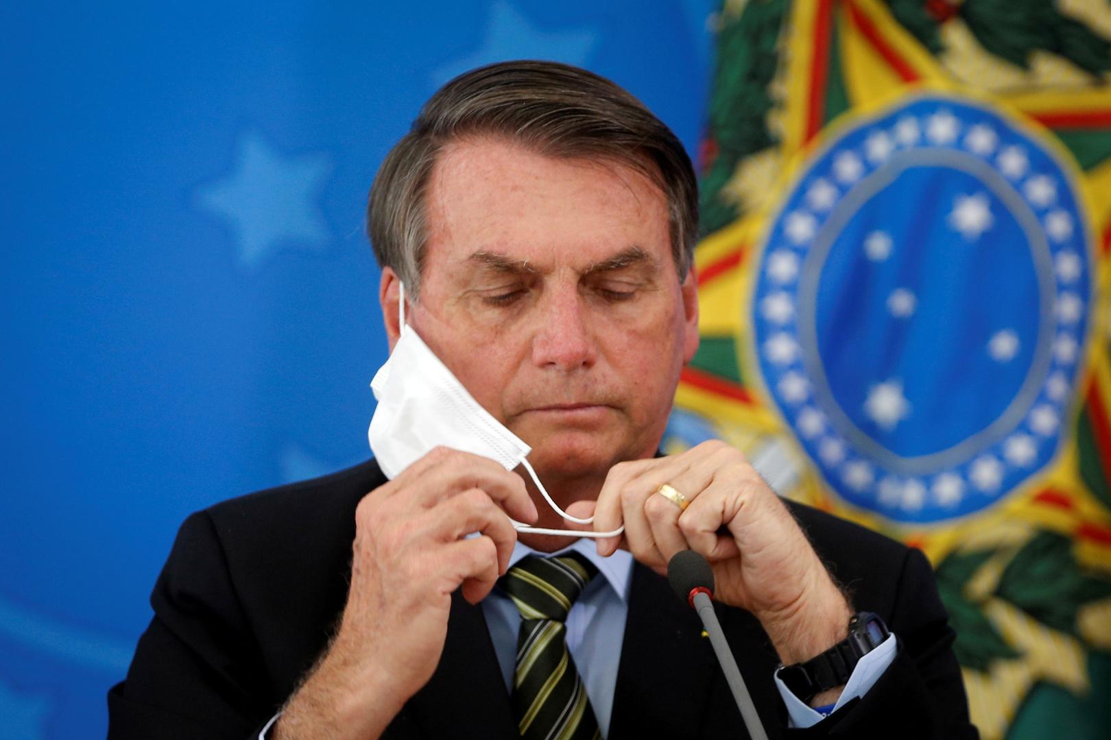 مكتب بولسونارو: الرئيس في حالة جيدة ولم يتم تسجيل أي مضاعفات لديه