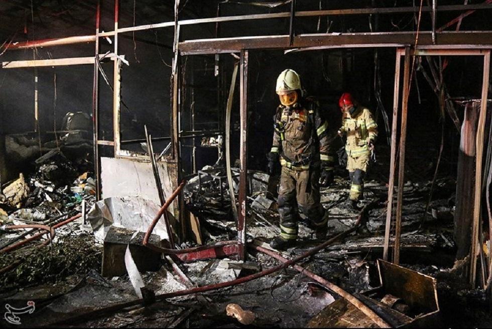 موقع انفجار شمال طهران (30 يونيو 2020).