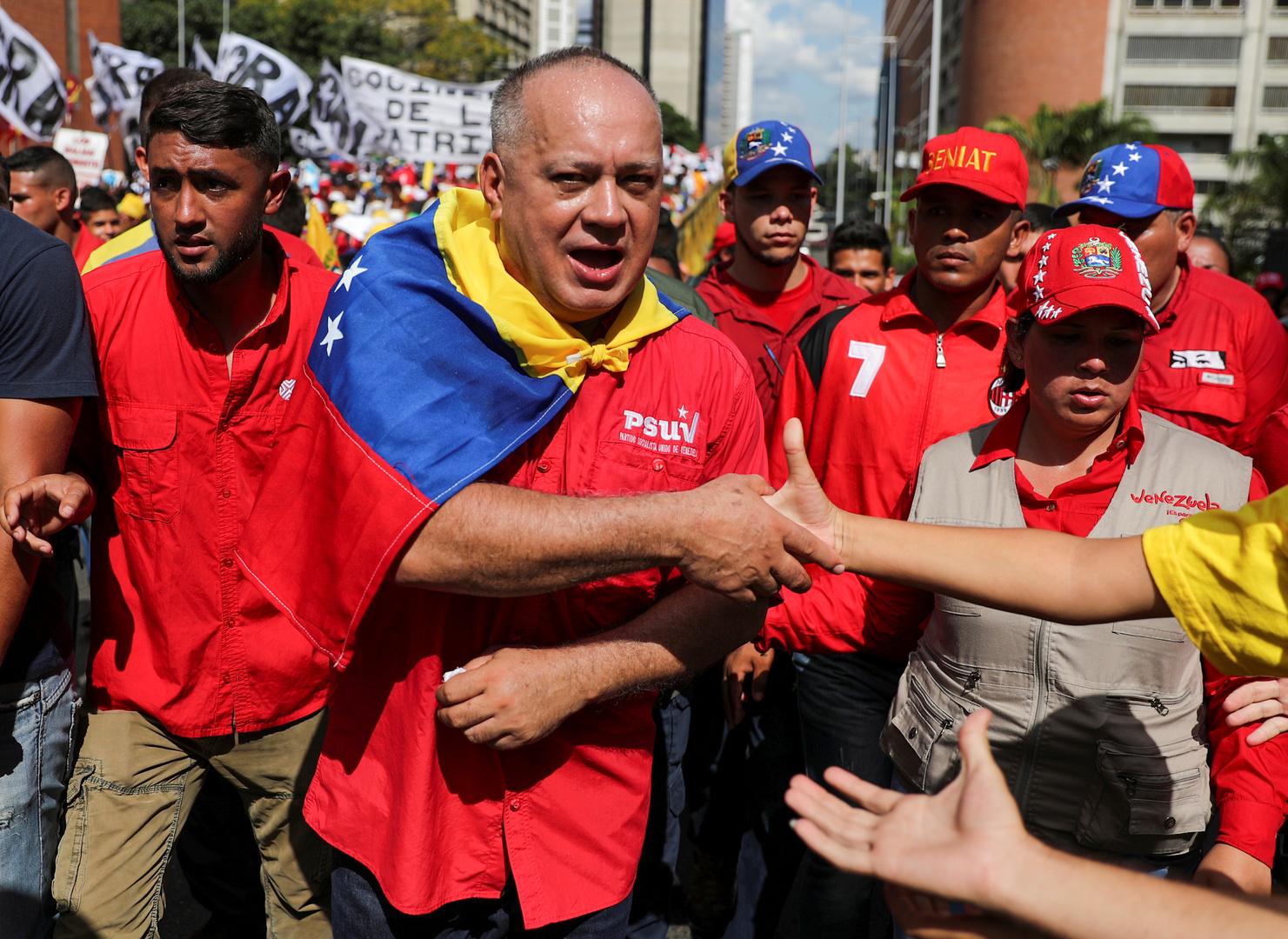 إصابة قيادي فنزويلي بارز بفيروس كورونا