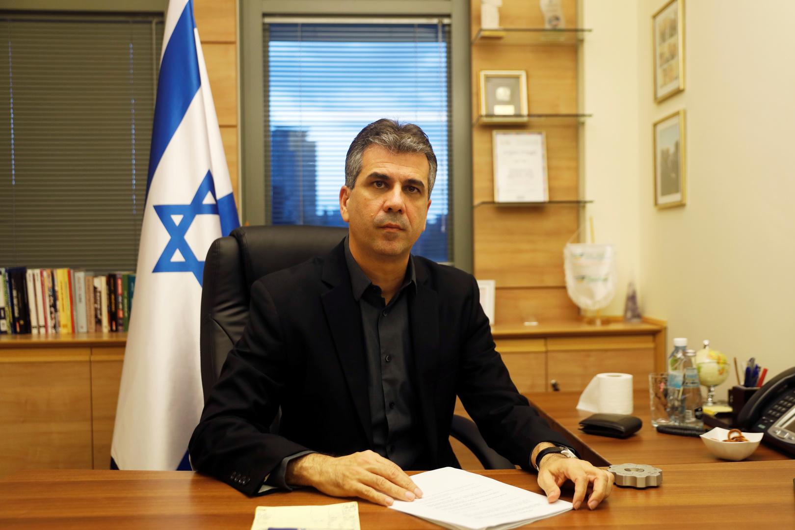 وزير الاستخبارات الإسرائيلي إيلي كوهين