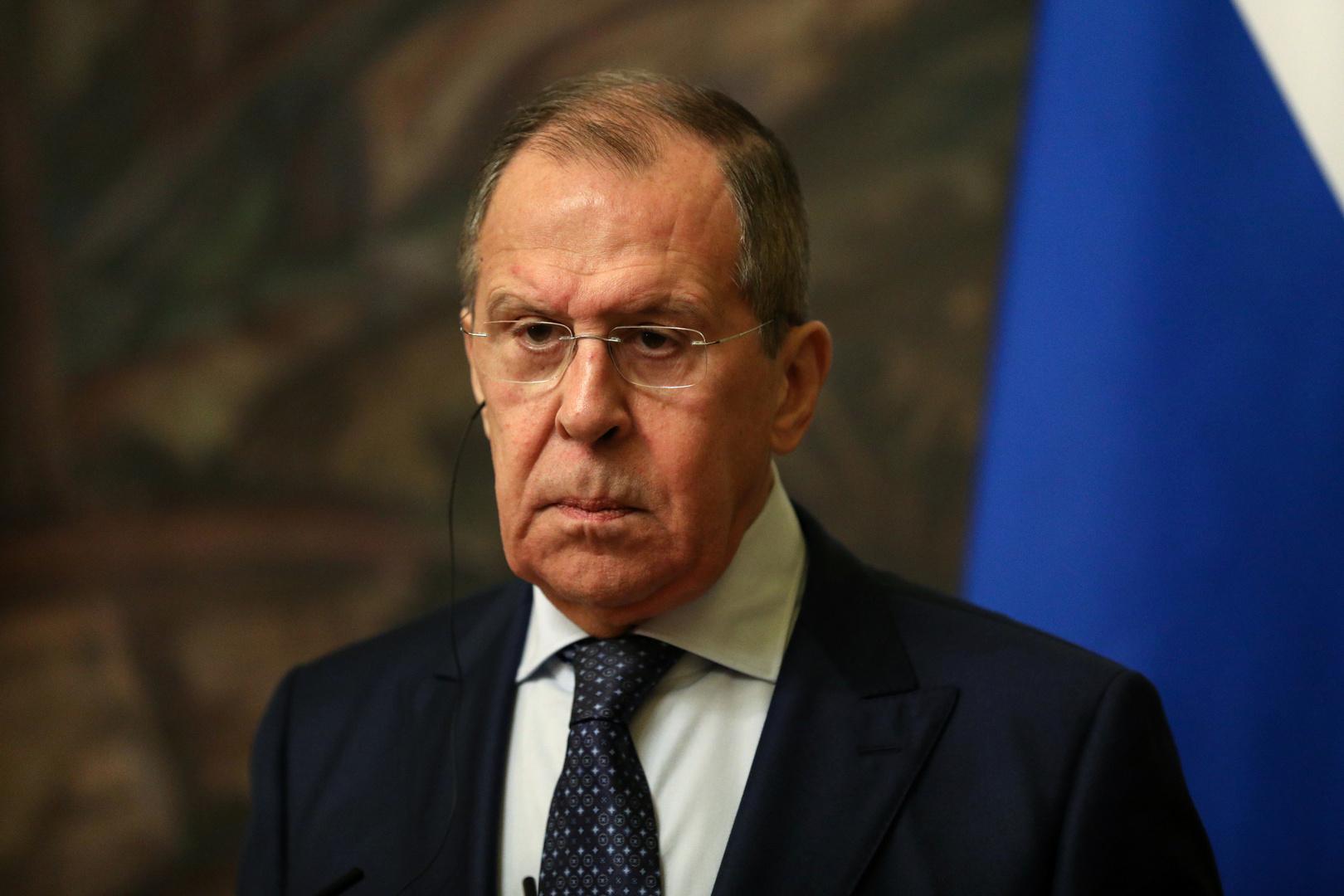 لافروف: روسيا لا تريد تكرار التجربة الليبية في أي دولة في الشرق الأوسط