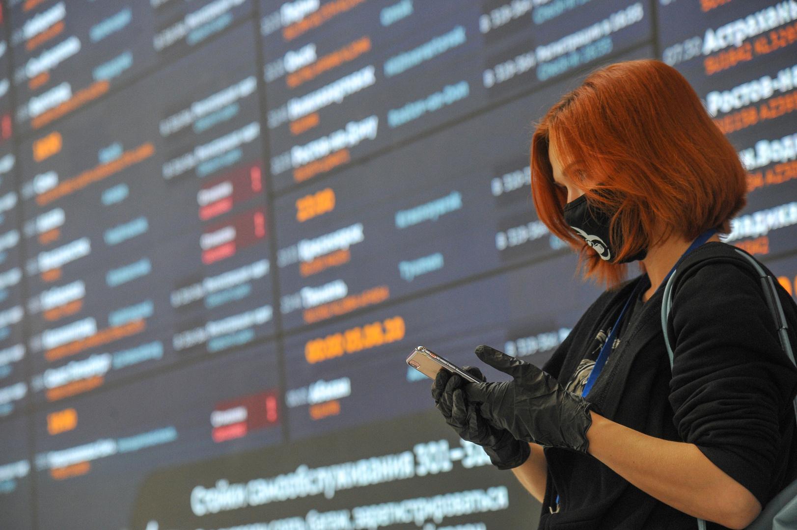 روسيا تعلن موعد استئناف رحلات الطيران الدولية
