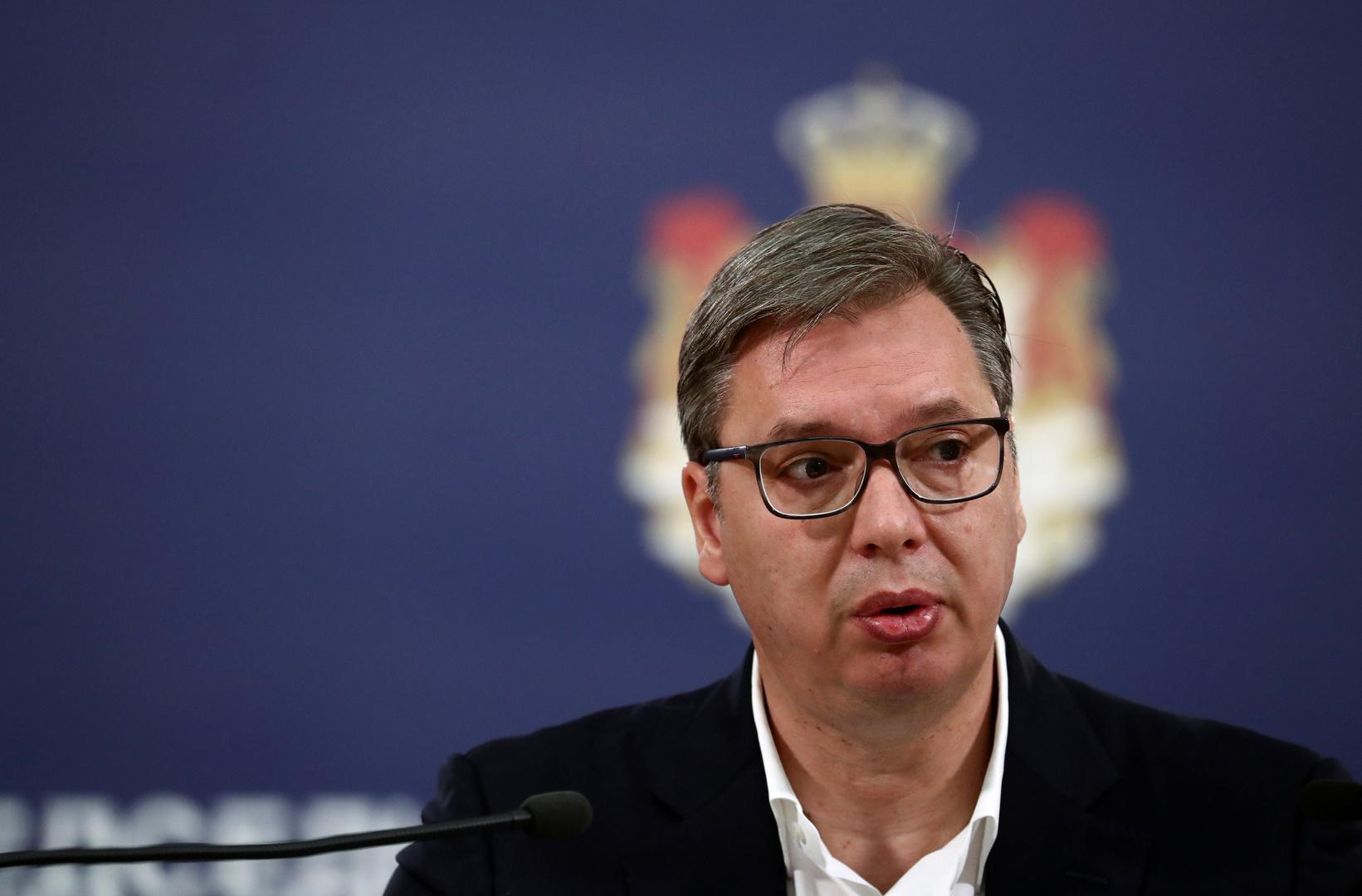 الرئيس الصربي، ألمكسندر فوتشيتش