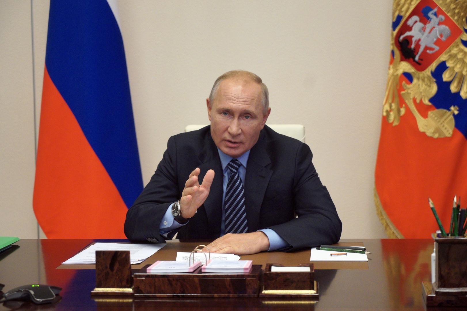 بوتين: المواجهة الاقتصادية الدولية ستستمر