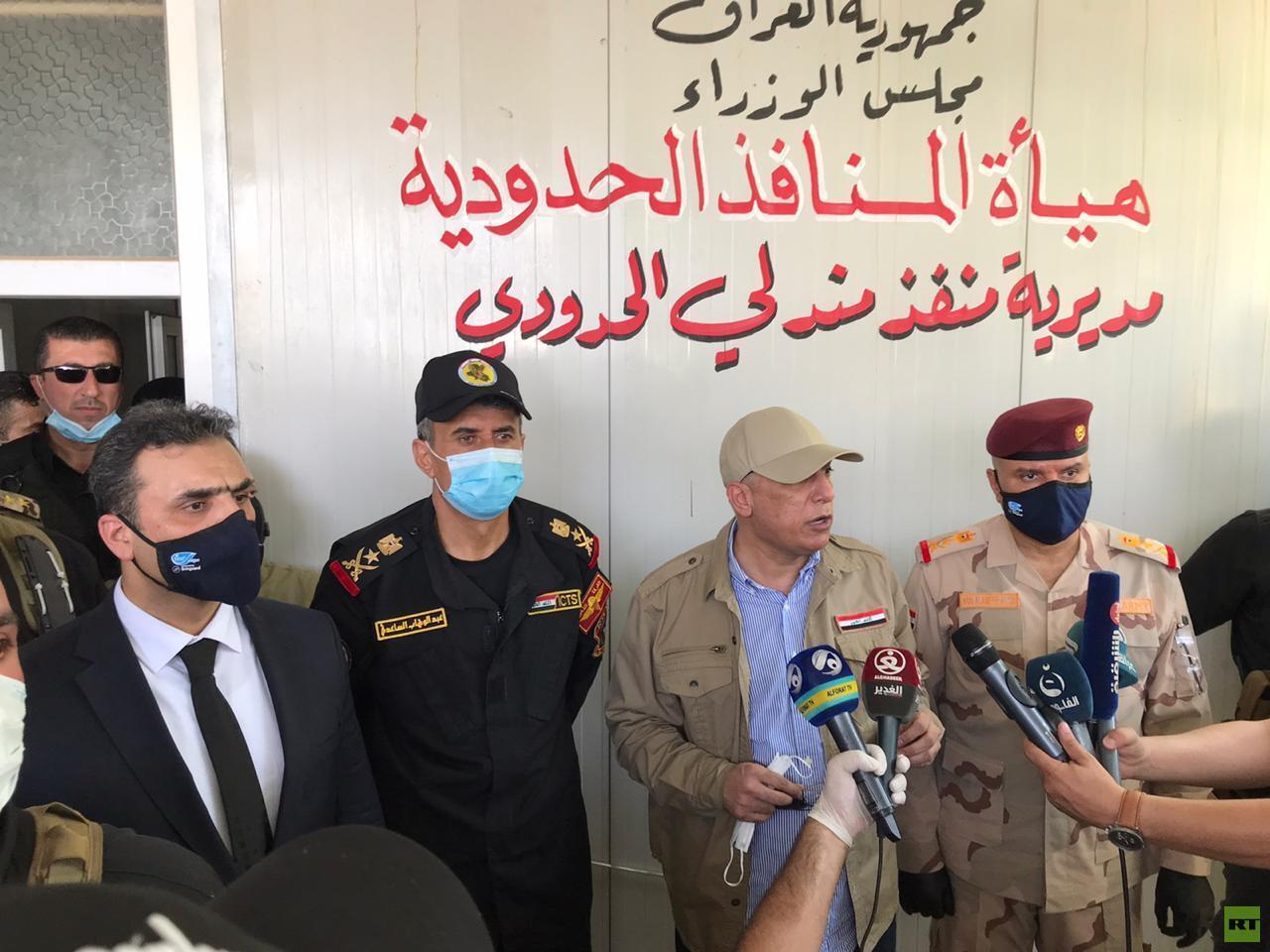 إعادة افتتاح منفذ مندلي الحدودي بين العراق وإيران