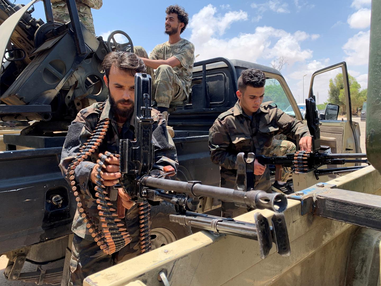 مسلحون في ليبيا، أرشيف
