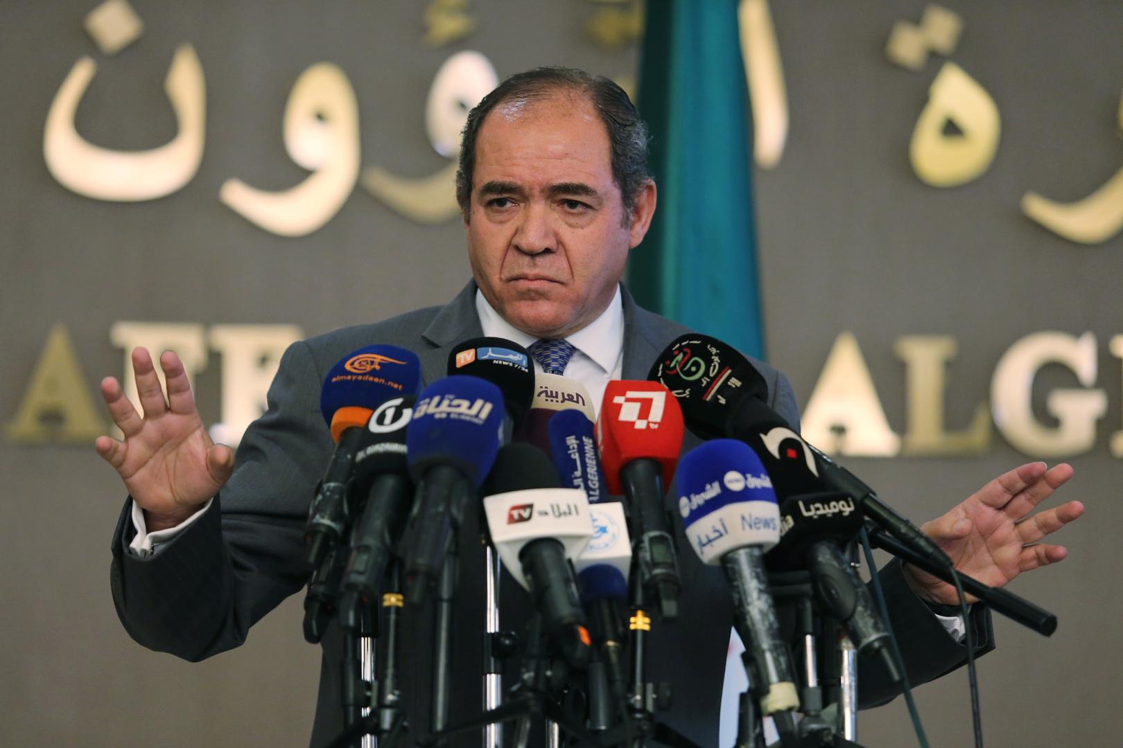 وزير الخارجية الجزائري صبري بوقادوم