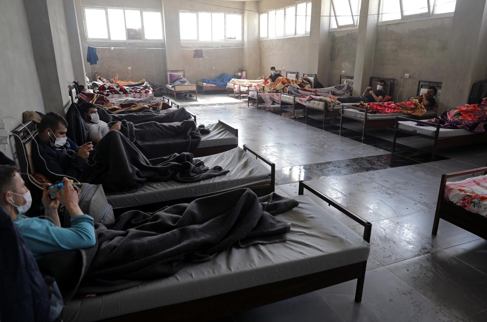 مركز للحجر الصحي في مدينة جسر الشغور - إدلب