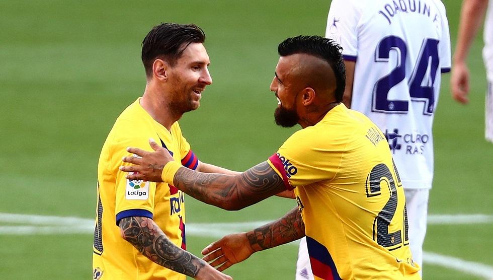 شاهد.. هدف برشلونة في مرمى بلد الوليد