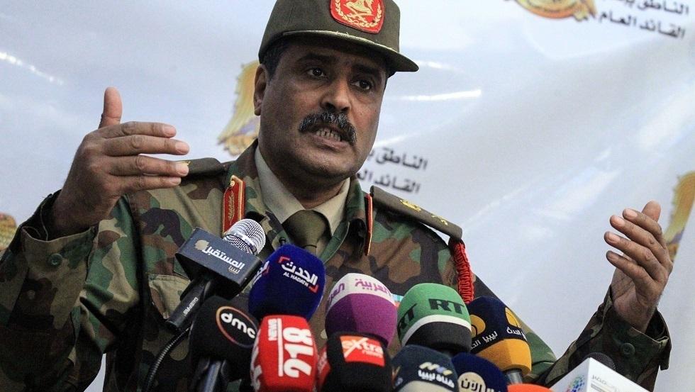 المتحدث باسم الجيش الليبي اللواء أحمد المسماري