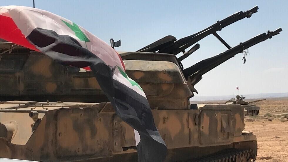 وحدات من الجيش السوري.