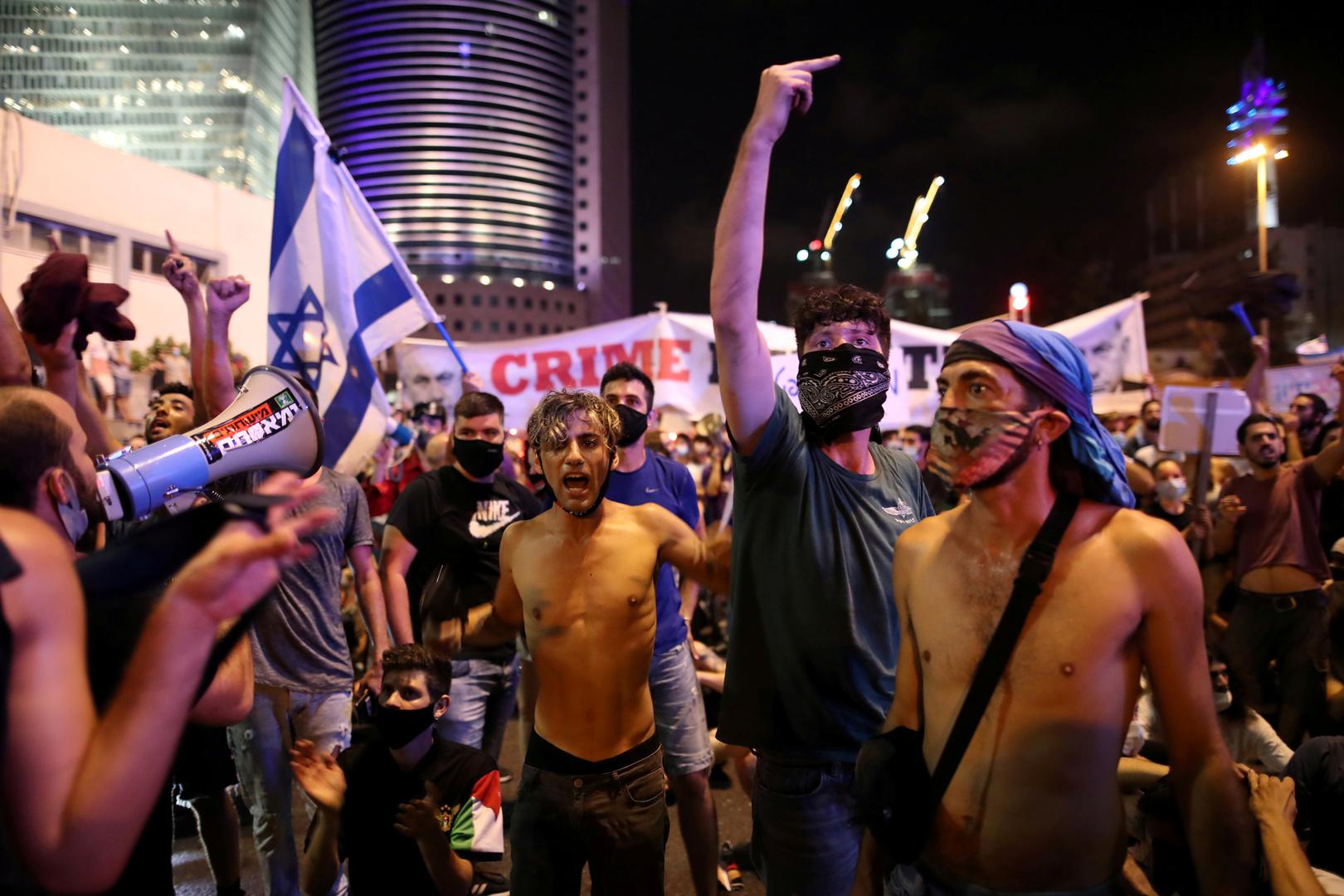 إسرائيل.. أعمال شغب على خلفية احتجاجات ضد سياسة حكومة نتنياهو في زمن كورونا