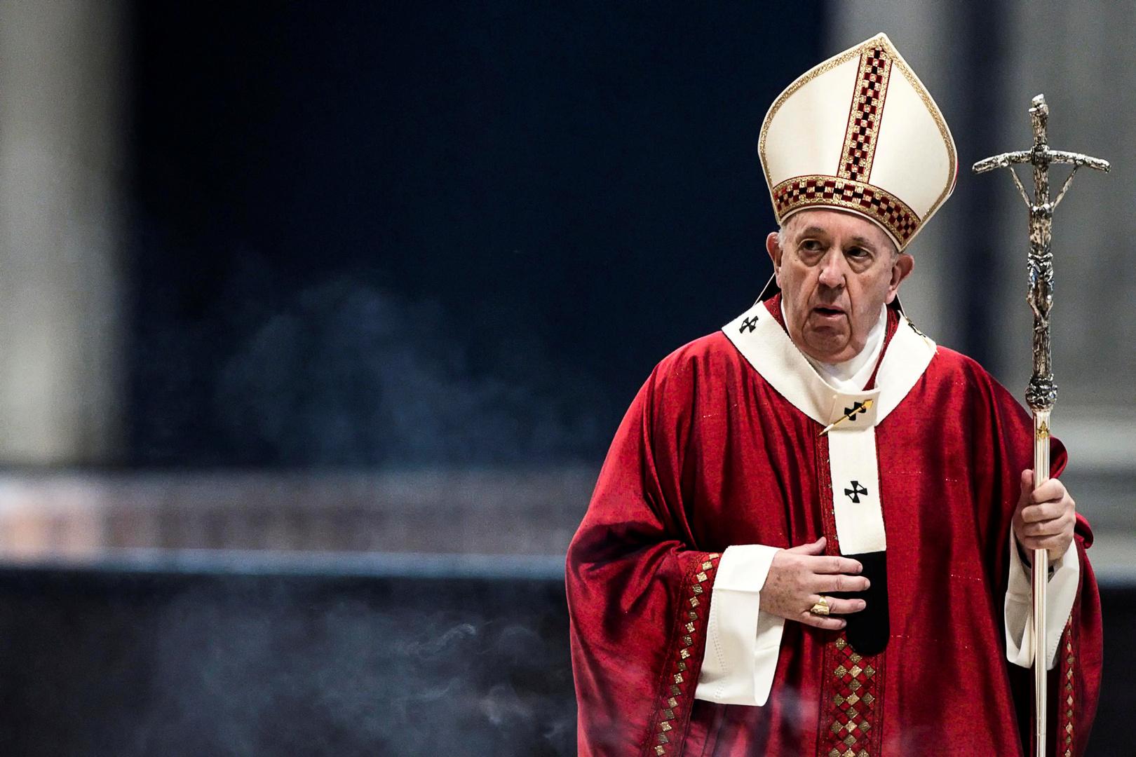 البابا فرنسيس يكسر صمته بشأن إعادة تحويل آيا صوفيا إلى مسجد