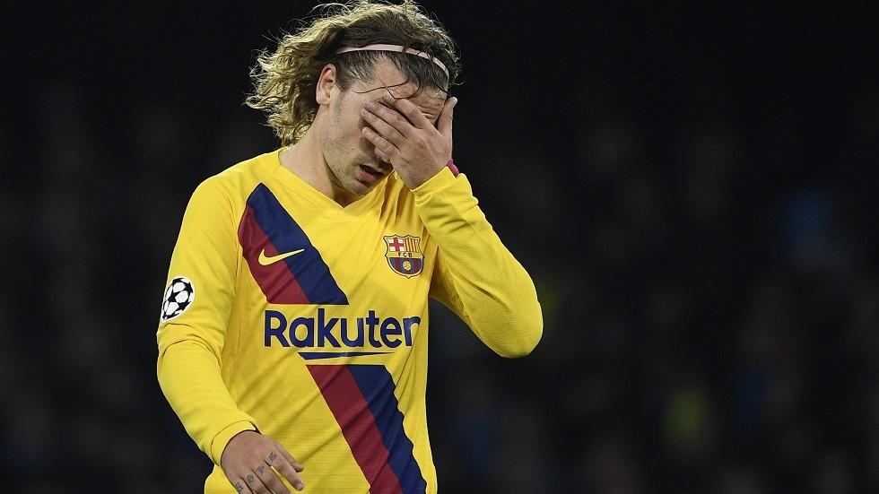 برشلونة يكشف طبيعة إصابة غريزمان