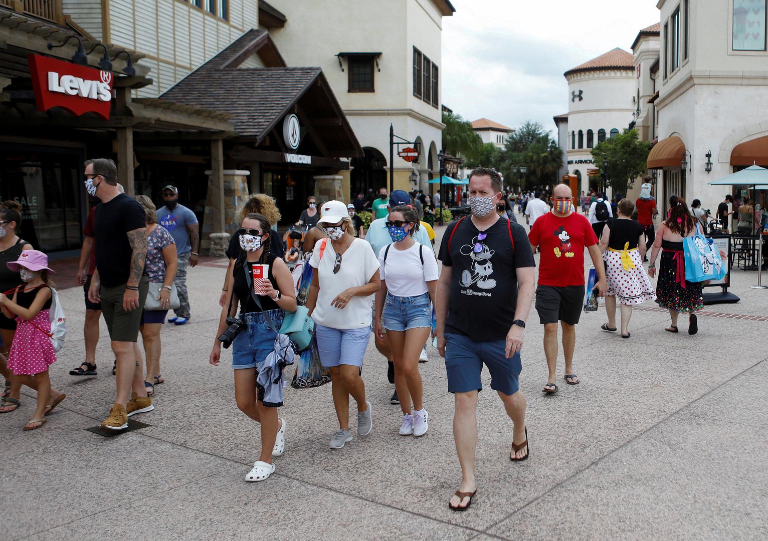 ولاية فلوريدا الأمريكية تسجل ارتفاعا قياسيا في الإصابات بكورونا