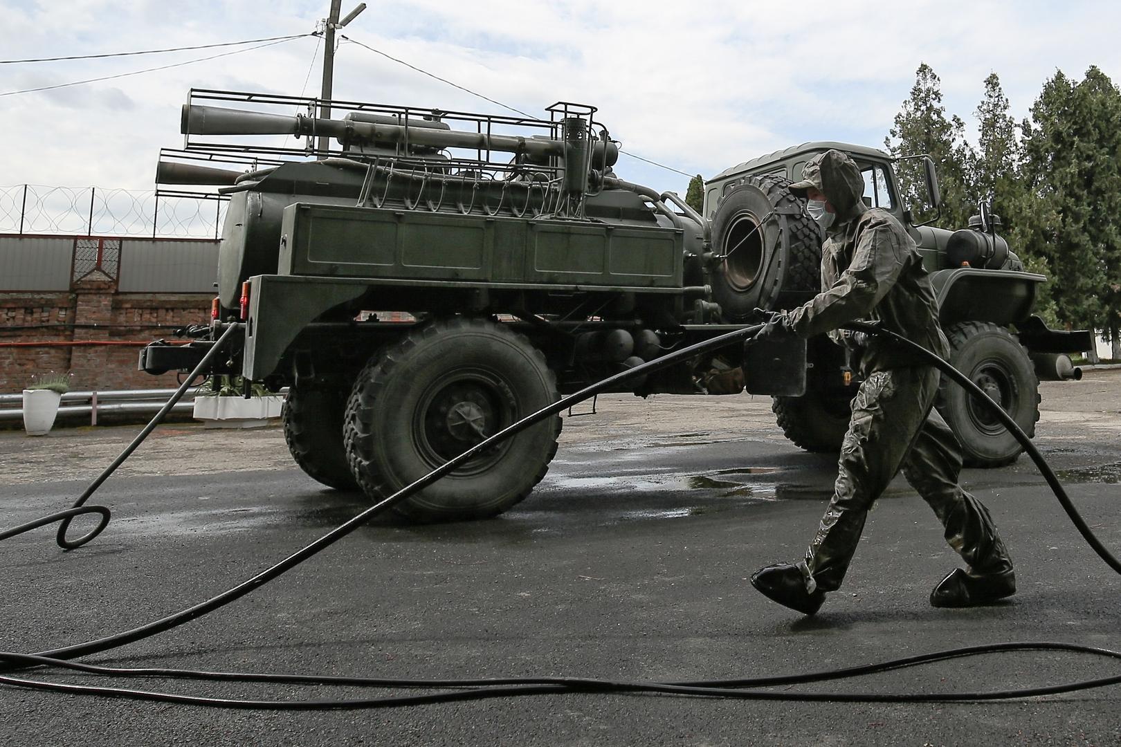 روسيا.. إعلان عن الوضع الوبائي في صفوف العسكريين