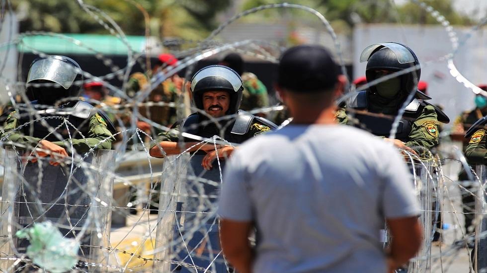 القوات المسلحة العراقية تنفي استخدام الذخيرة الحية ضد المتظاهرين