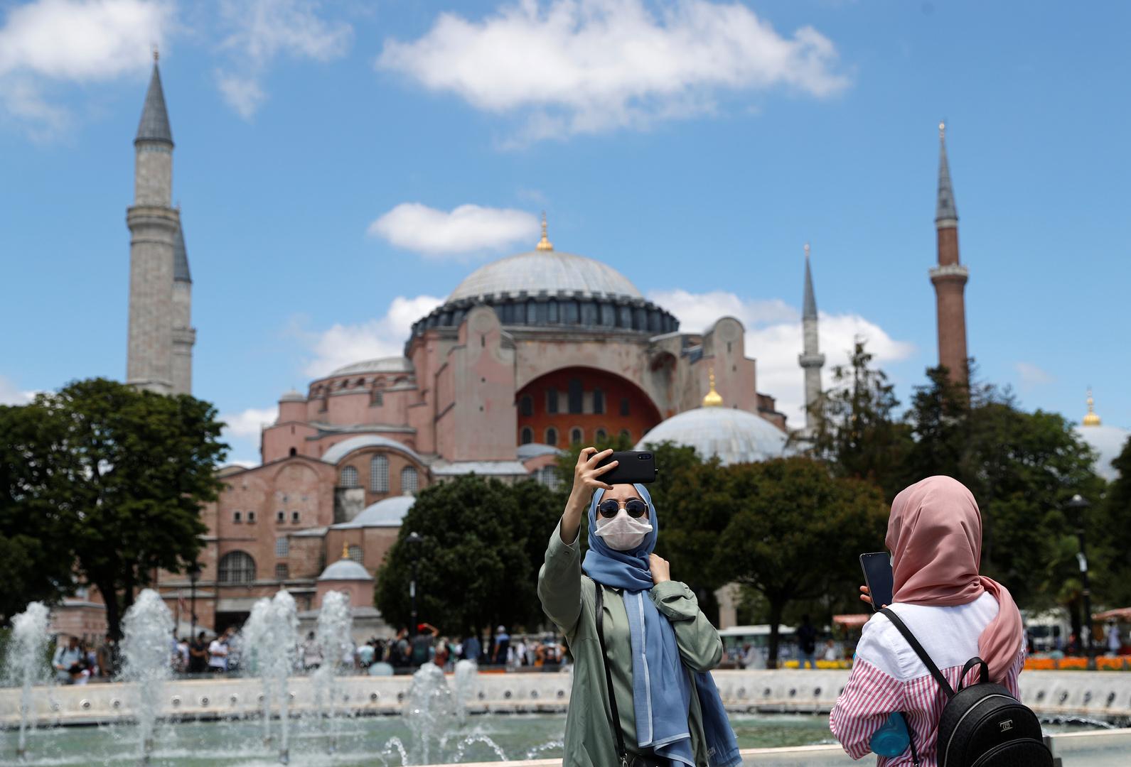 الخارجية التركية: سنبلغ اليونسكو بالخطوات اللاحقة بخصوص آيا صوفيا
