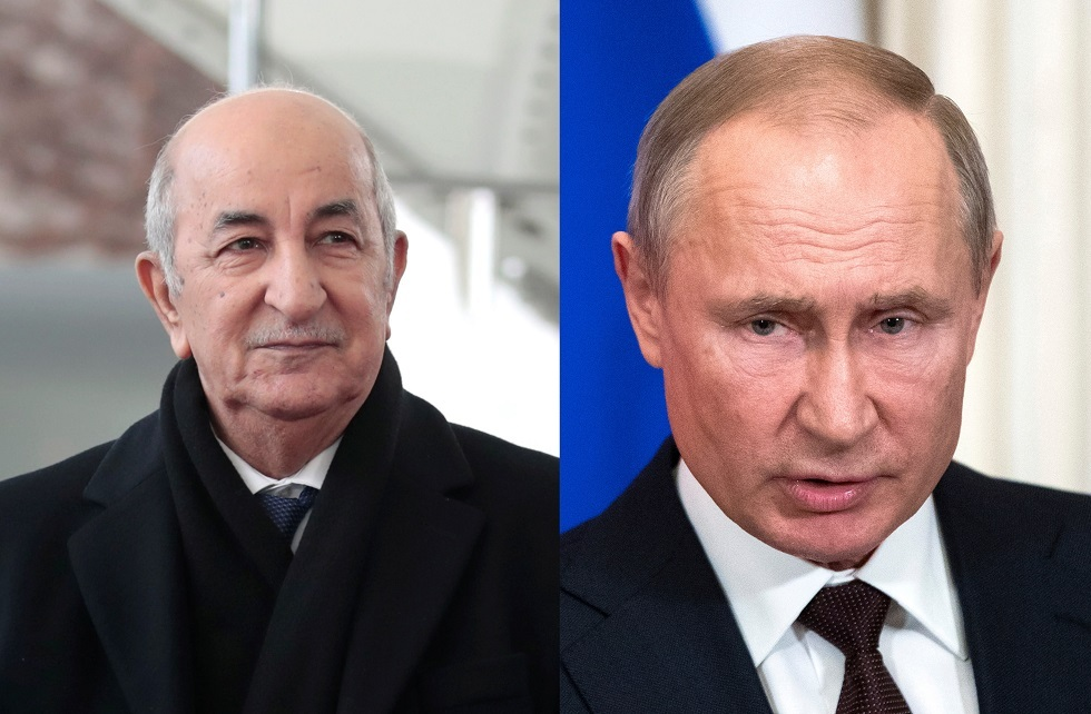 بوتين وتبون يبحثان سوق النفط والملف الليبي
