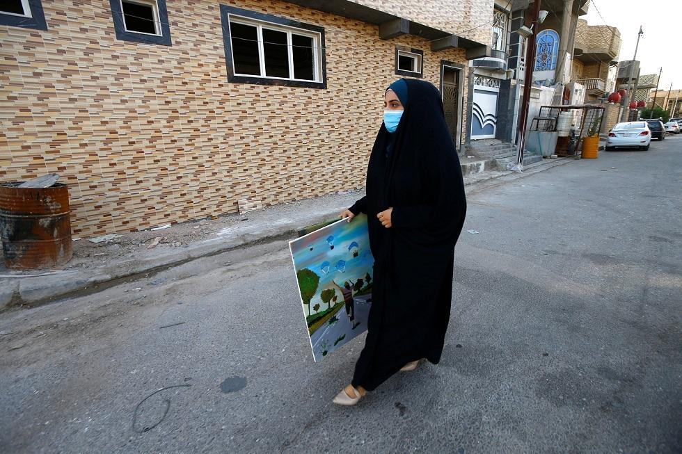 العراق يسجل 100 وفاة و2229 إصابة جديدة بكورونا