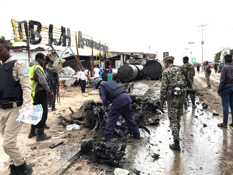 نجاة قائد القوات المسلحة الصومالية من هجوم انتحاري