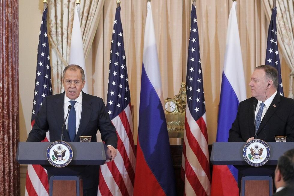 لافروف وبومبيو يبحثان قمة الدول دائمة العضوية بمجلس الأمن والاستقرار الاستراتيجي