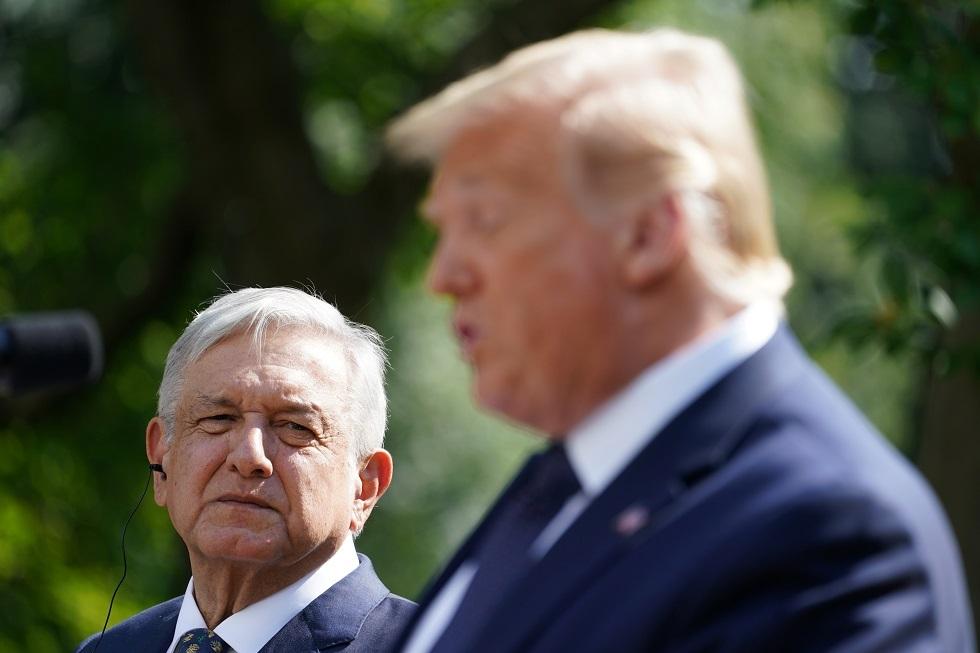رئيس المكسيك: ليس لي رأي بشأن بناء جدار ترامب الحدودي!