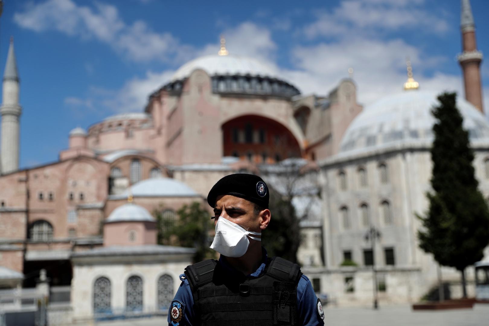 أنقرة للاتحاد الأوروبي: تحديد وضع آيا صوفيا حق سيادي لتركيا