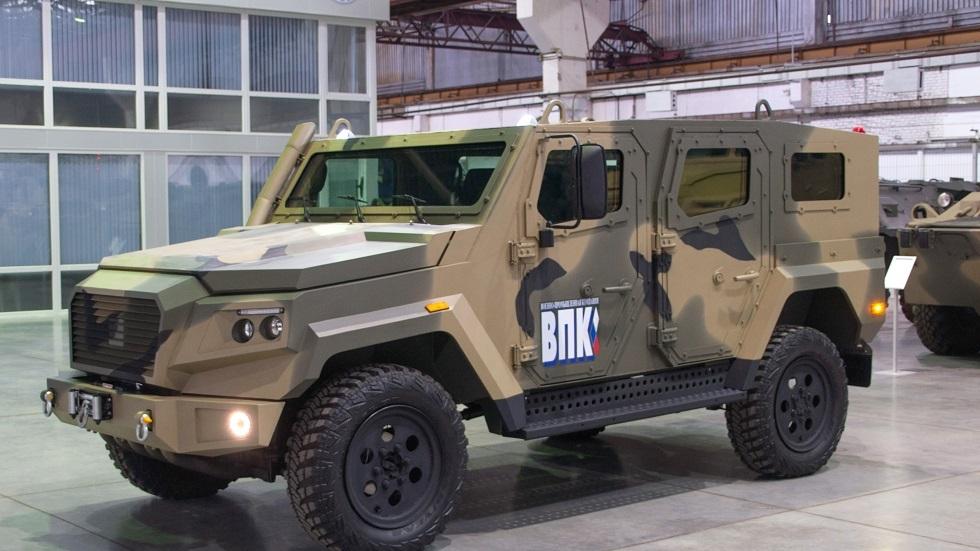 روسيا تكشف عن أحدث سياراتها العسكرية المدرعة