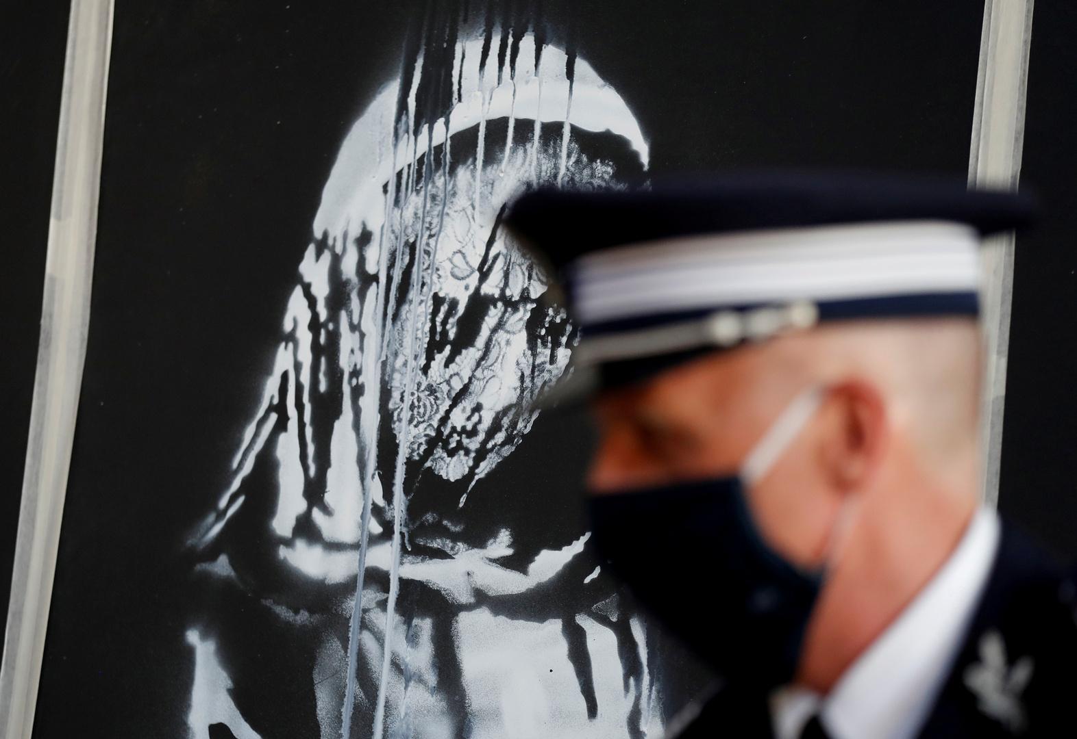 إيطاليا تعيد إلى فرنسا جدارية للفنان بانكسي سرقت من باتاكلان