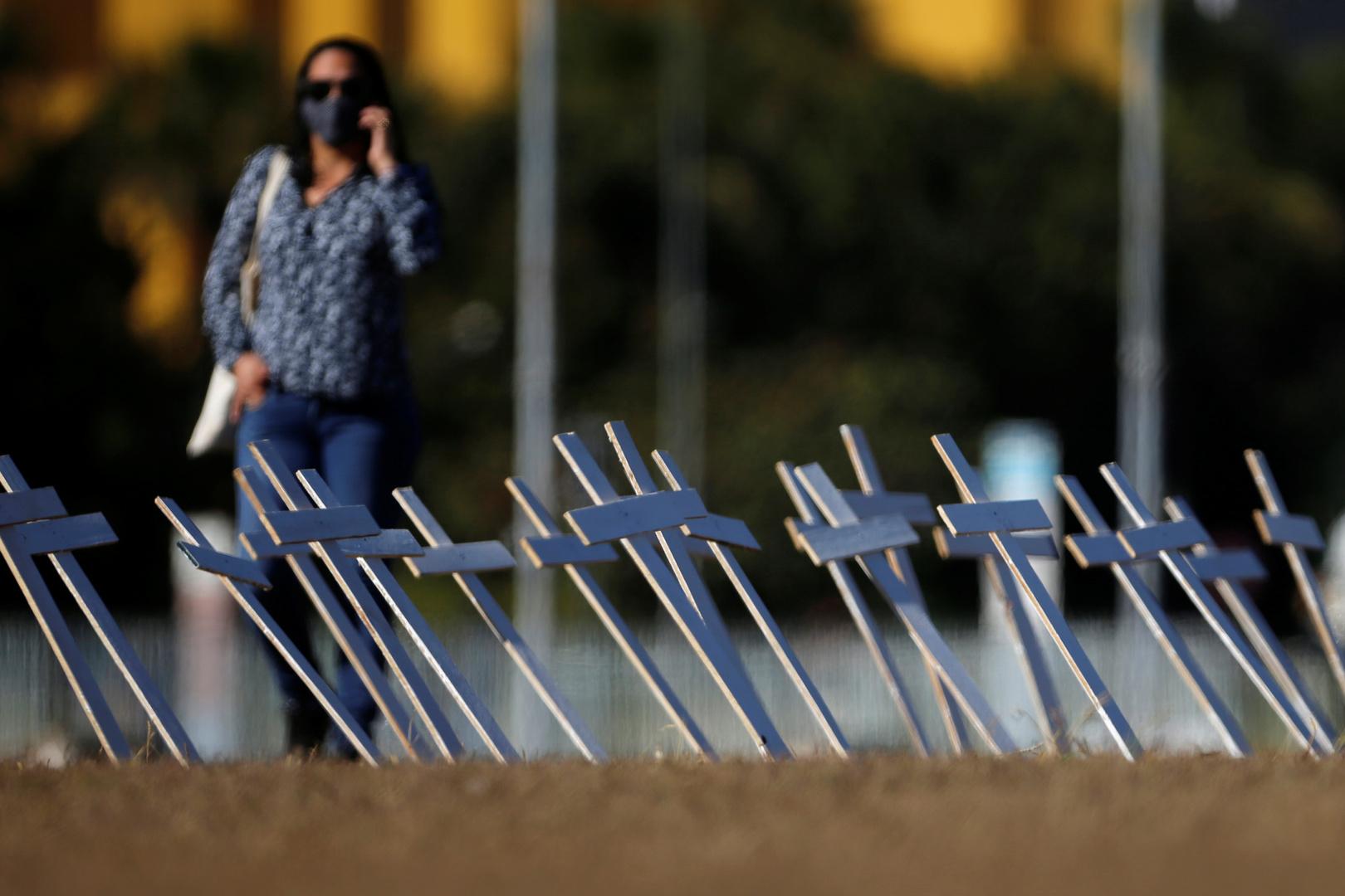 البرازيل تسجل أكثر من 40 ألف إصابة جديدة بكورونا و1300 وفاة