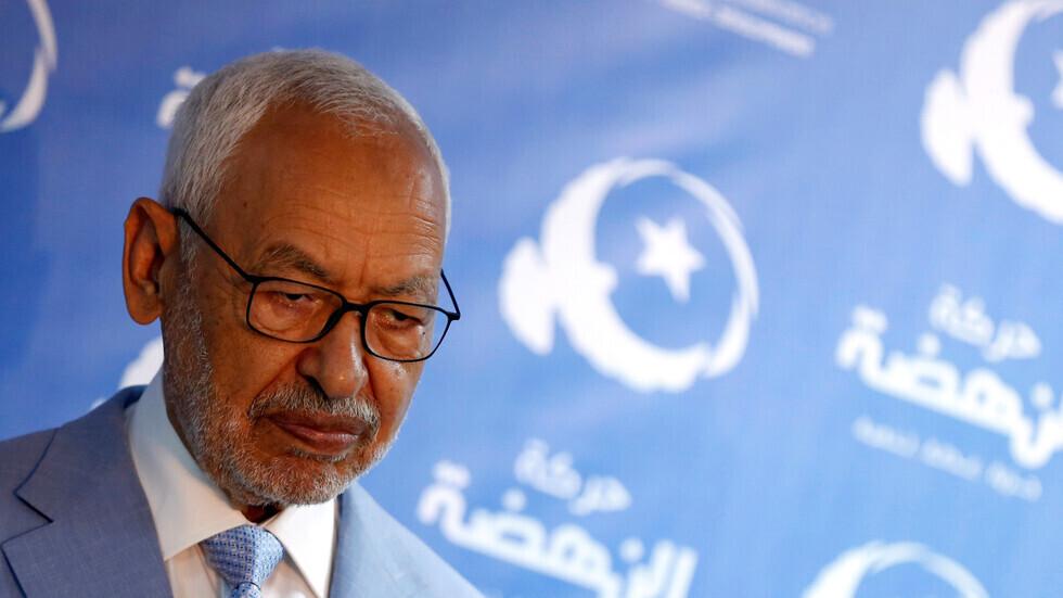 رئيس البرلمان التونسي ورئيس حركة النهضة راشد الغنوشي