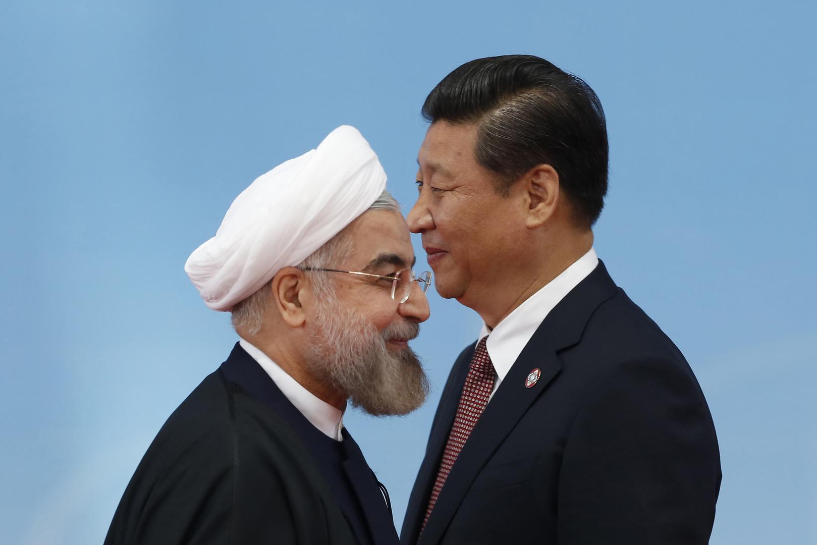 إيران تدفع الصين نحو