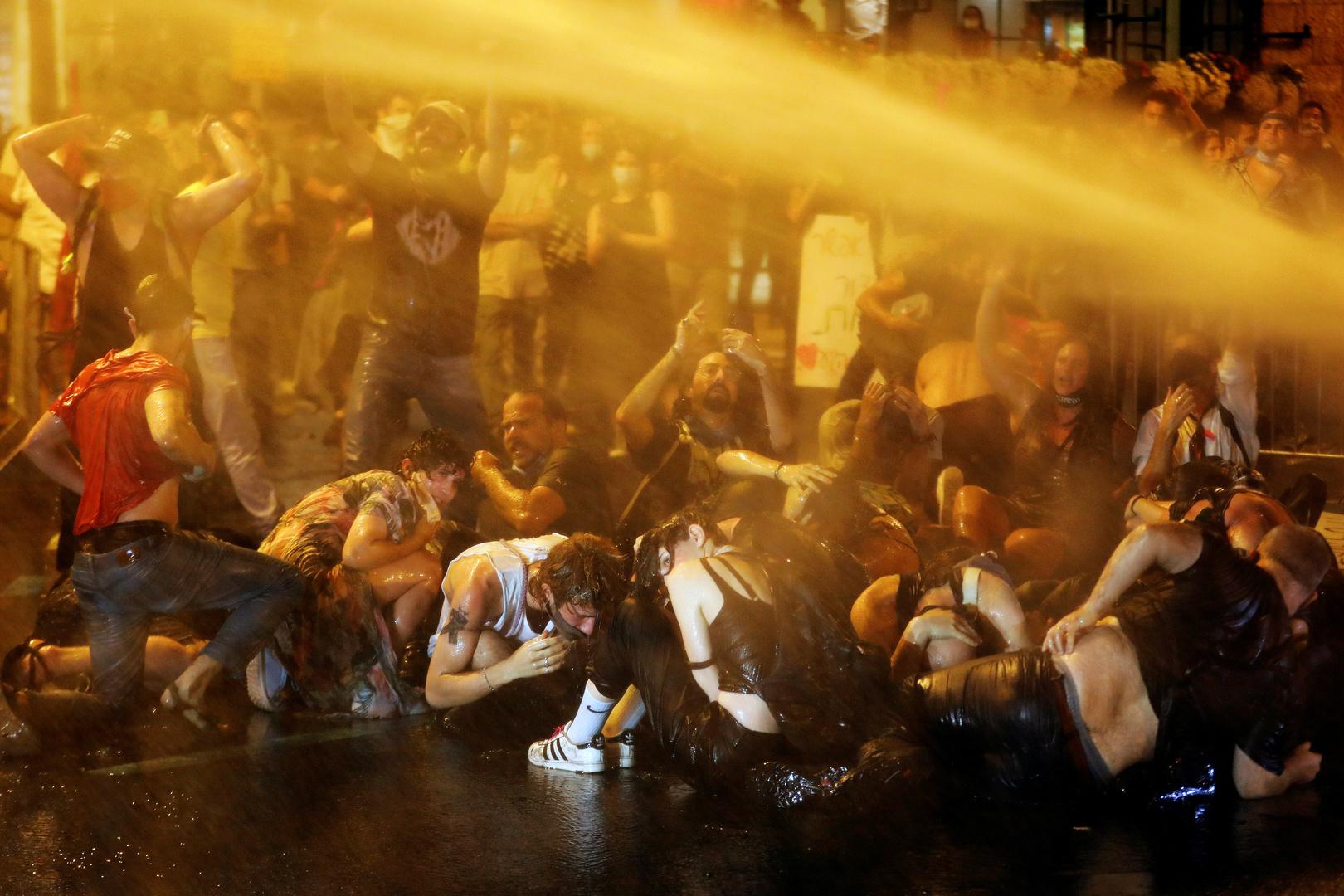 الشرطة الإسرائيلية تعتقل 50 شخصا خلال مظاهرات معارضة لنتنياهو في القدس
