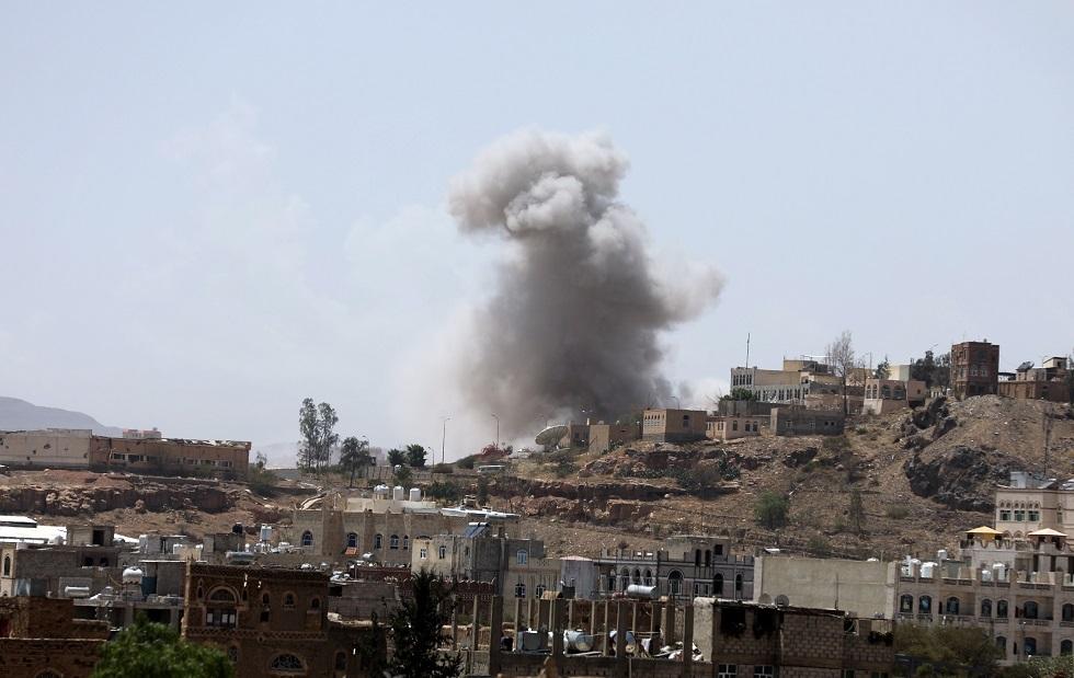 الحوثيون: قتلى وجرحى بغارة للتحالف العربي شمال شرقي صنعاء