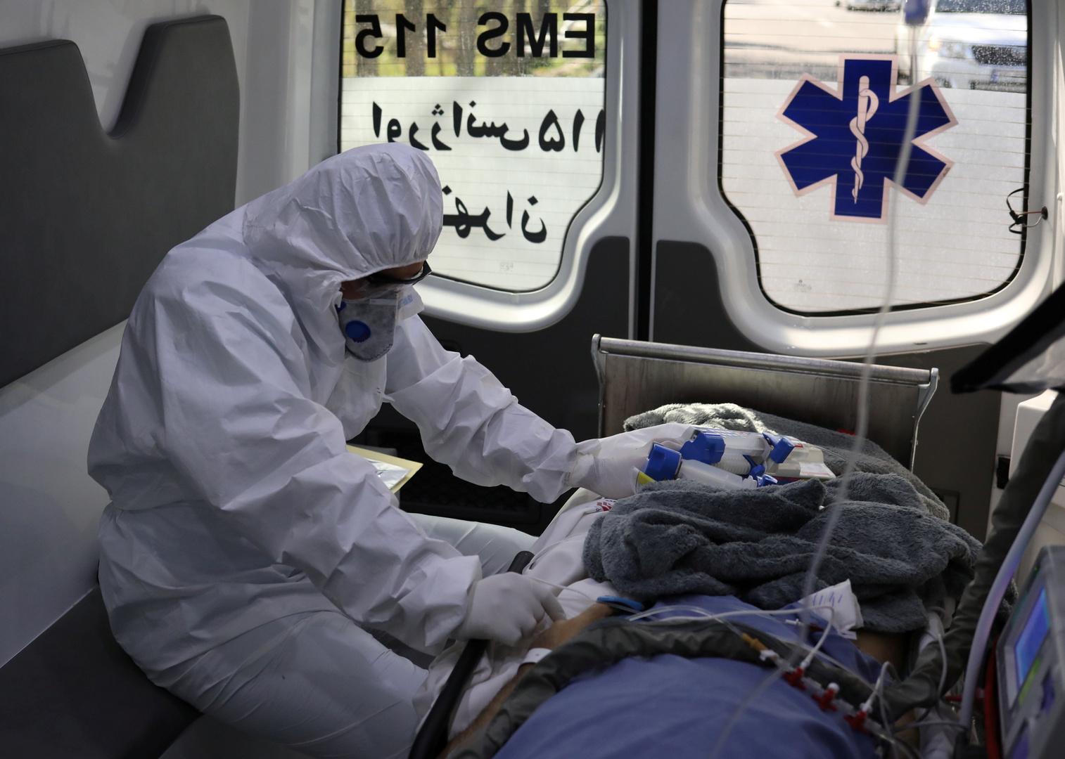 إيران.. 199 وفاة و2388 إصابة بفيروس كورونا خلال الساعات الـ24 الماضية