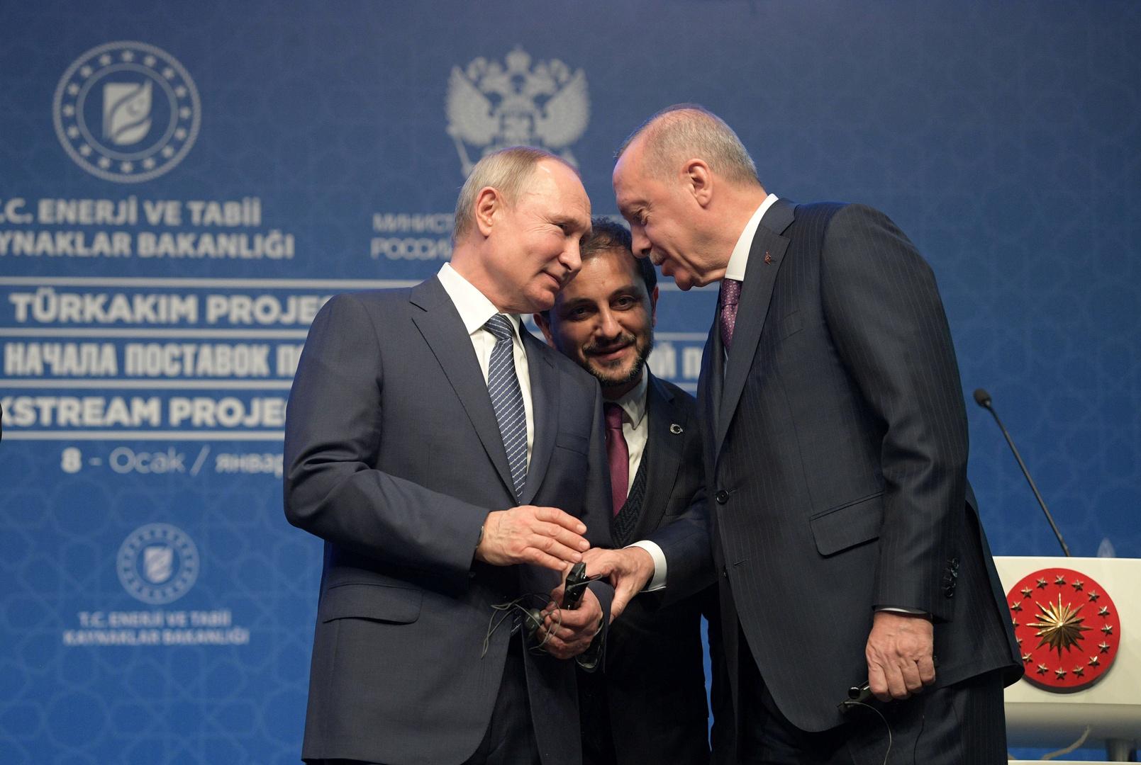 بوتين وأردوغان وجها ببدء التفاوض لاستئناف الرحلات الجوية بين روسيا وتركيا