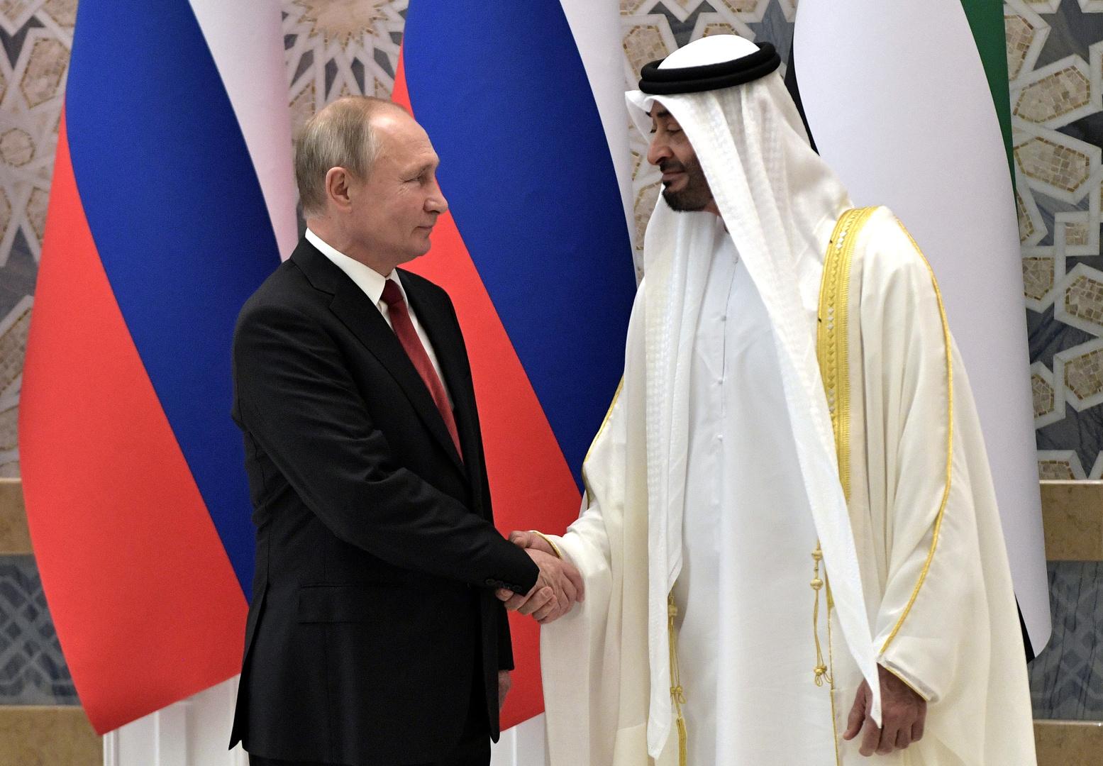 الإمارات تشكر روسيا على تزويدها بأجهزة الكشف عن كورونا