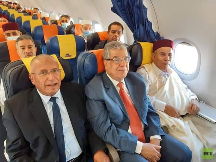 مصادر: وفد من مشايخ وأعيان ليبيا سيلتقي الرئيس المصري الخميس (صور)