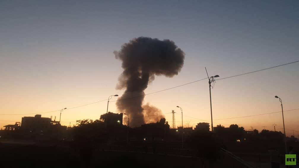مصدر لـ RT: انفجار مستودع ذخيرة في سوريا (صور + فيديو)