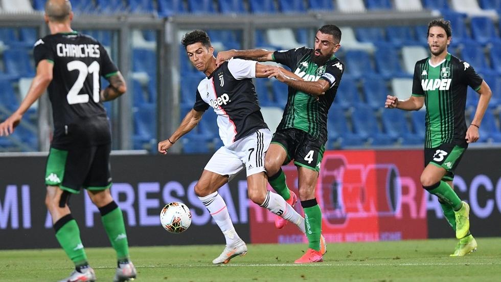 ساسولو يفرض التعادل على يوفنتوس في مباراة غزيرة بالأهداف (فيديو)