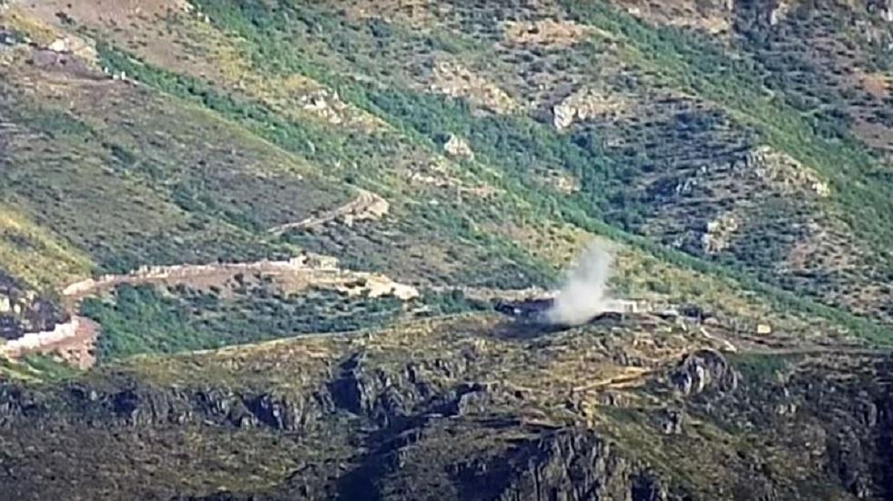 استئناف الاشتباكات على حدود أرمينيا وأذربيجان