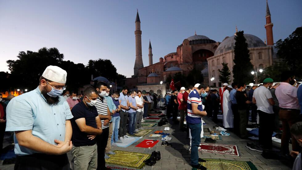 القديسة صوفيا ضحية العثمانية الجديدة؟