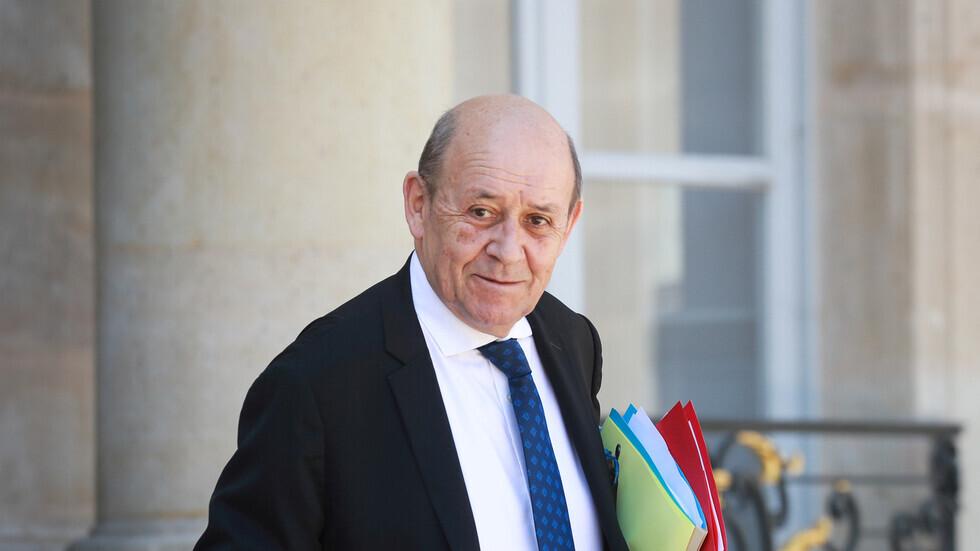 وصول وزير الخارجية الفرنسي إلى بغداد في زيارة رسمية