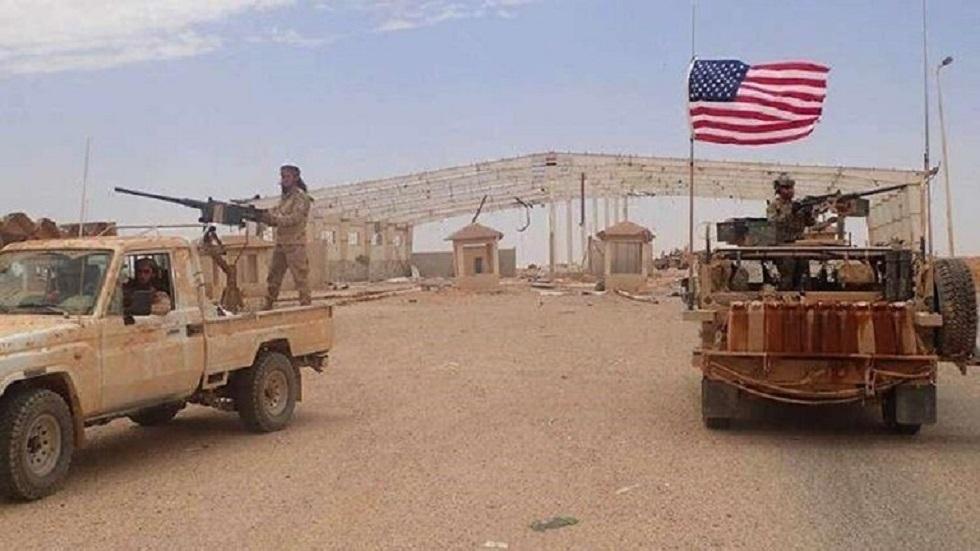 قاعدة التنف الأمريكية على الحدود السورية الأردنية