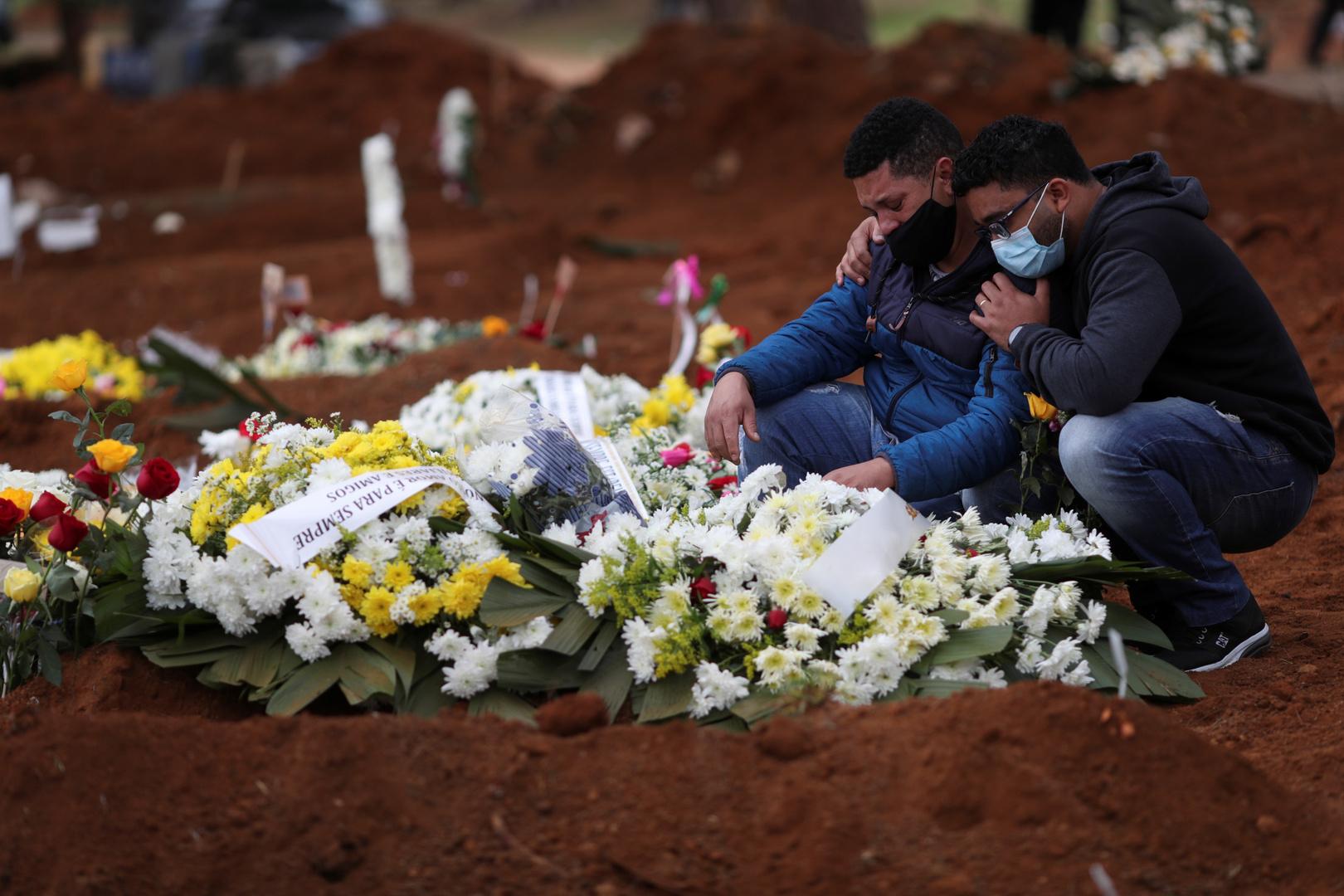 عدد إصابات كورونا في البرازيل يتجاوز المليونين