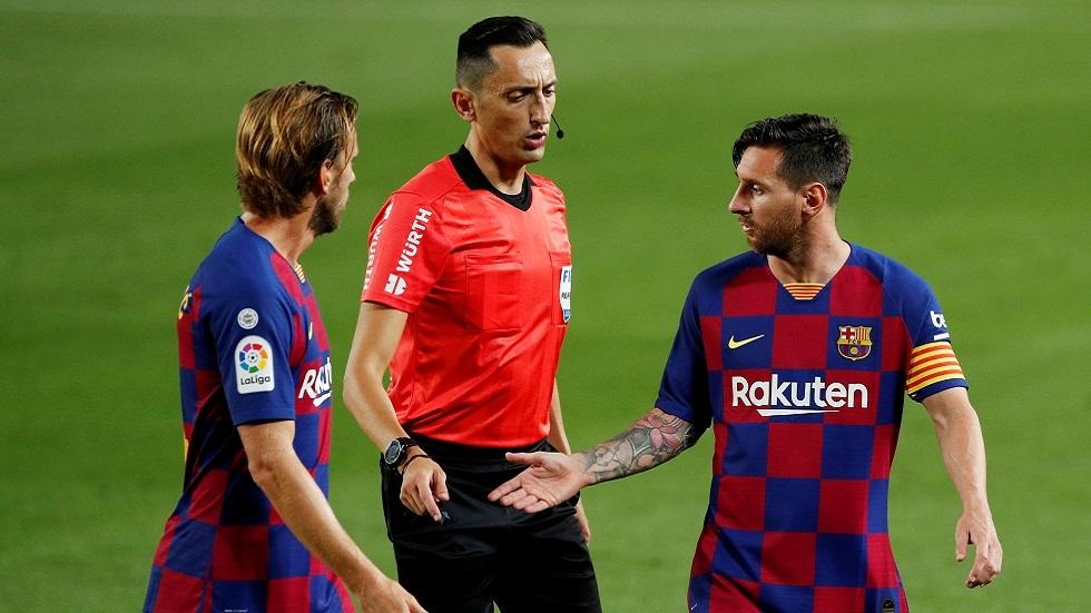 برشلونة يتعرض لخسارة مريرة في ليلة تجريده من لقب